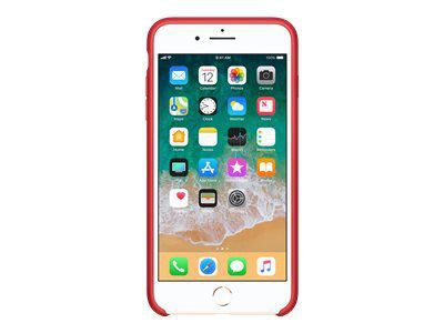 APPLE iPhone 8 Plus / 7 Plus Silikon Tasche - (PRODUCT)RED