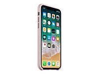APPLE iPhone X Silikon Tasche - Pink Sand - Produktdetailbild 3