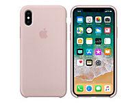 APPLE iPhone X Silikon Tasche - Pink Sand - Produktdetailbild 2