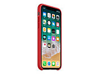 APPLE iPhone X Silikon Tasche - Rot - Produktdetailbild 3