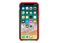 APPLE iPhone X Silikon Tasche - Rot - Produktdetailbild 4
