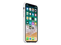 APPLE iPhone X Silikon Tasche - Weiss - Produktdetailbild 2
