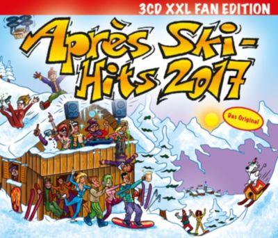 Apres Ski Hits 2017 (XXL Fan Edition, 3 CDs), Diverse Interpreten