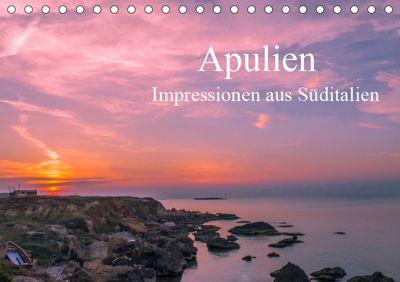 Apulien - Impressionen aus Süditalien (Tischkalender 2019 DIN A5 quer), Michael Fahrenbach