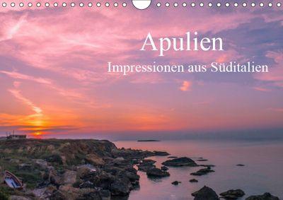 Apulien - Impressionen aus Süditalien (Wandkalender 2019 DIN A4 quer), Michael Fahrenbach