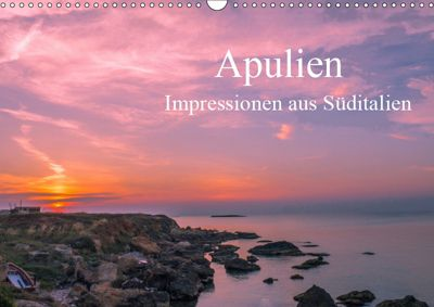 Apulien - Impressionen aus Süditalien (Wandkalender 2019 DIN A3 quer), Michael Fahrenbach