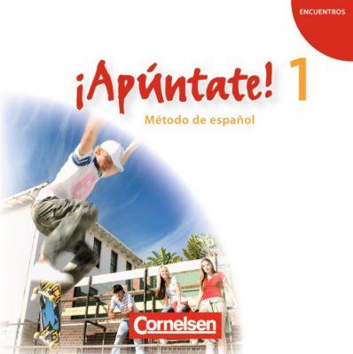 ¡Apúntate! - Spanisch für Gymnasien (Ausgabe 2008): Bd.1 2 Audio-CDs