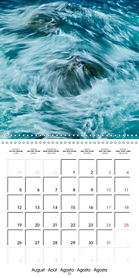 AQUA Ines Mondon Mark James Ford (Wall Calendar 2019 300 × 300 mm Square) - Produktdetailbild 8