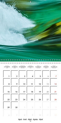 AQUA Ines Mondon Mark James Ford (Wall Calendar 2019 300 × 300 mm Square) - Produktdetailbild 4