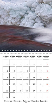 AQUA Ines Mondon Mark James Ford (Wall Calendar 2019 300 × 300 mm Square) - Produktdetailbild 12