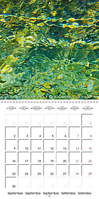 AQUA Ines Mondon Mark James Ford (Wall Calendar 2019 300 × 300 mm Square) - Produktdetailbild 9