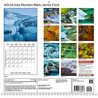 AQUA Ines Mondon Mark James Ford (Wall Calendar 2019 300 × 300 mm Square) - Produktdetailbild 13