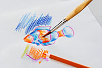 Aquarell-Buntstifte, 48-tlg. - Produktdetailbild 3