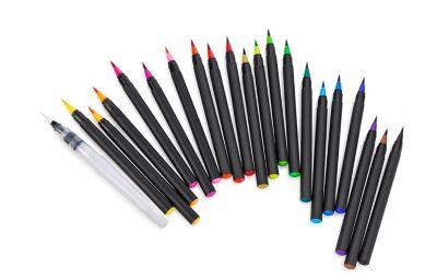 Aquarell-Pinselstift-Set, 21tlg