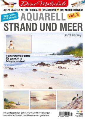 Aquarell - Strand und Meer - Geoff Kersey |