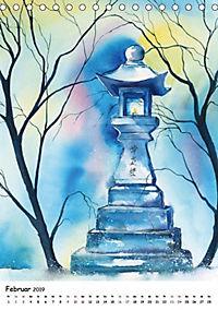 Aquarelle Asiens (Tischkalender 2019 DIN A5 hoch) - Produktdetailbild 2