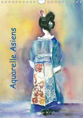 Aquarelle Asiens (Wandkalender 2019 DIN A4 hoch), Jitka Krause