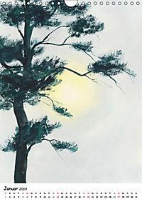 Aquarelle Asiens (Wandkalender 2019 DIN A4 hoch) - Produktdetailbild 1
