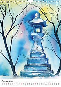 Aquarelle Asiens (Wandkalender 2019 DIN A4 hoch) - Produktdetailbild 2