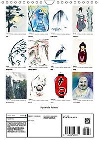 Aquarelle Asiens (Wandkalender 2019 DIN A4 hoch) - Produktdetailbild 7