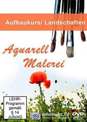 Aquarellmalerei Landschaften, Aurelia Küblböck