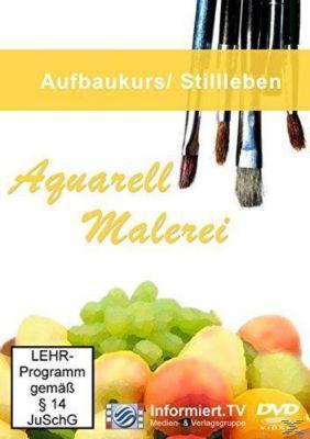 Aquarellmalerei Stillleben, Aurelia Küblböck