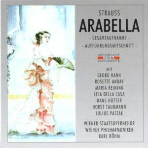 Arabella (Ga), Wiener Staatsopernchor, Wiener Philharmoniker