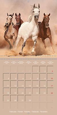 Arabian Horses - The Kings of Desert (Wall Calendar 2019 300 × 300 mm Square) - Produktdetailbild 2