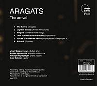 Aragats-The Arrival-Armenische Jazzmusik - Produktdetailbild 1