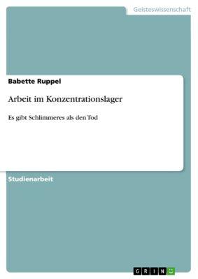 Arbeit im Konzentrationslager, Babette Ruppel