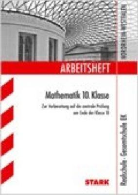 arbeitsheft mathematik 10 klasse realschule gesamtschule ek nordrhein westfalen buch. Black Bedroom Furniture Sets. Home Design Ideas