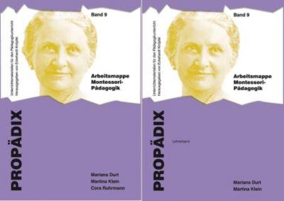 Arbeitsmappe Montessori-Pädagogik (Lehrerband + Schülerband), Mariana Durt, Martina Klein