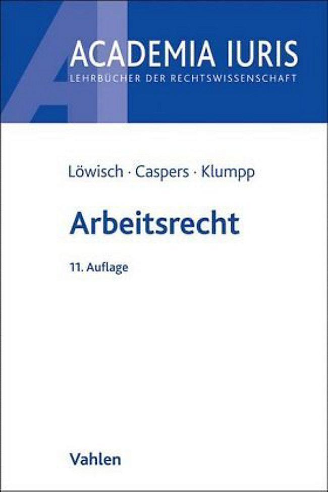 Arbeitsrecht Buch Von Manfred Löwisch Portofrei Bei Weltbildde