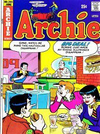 Archie (1960): Archie (1960), Issue 244, Archie Superstars