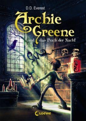 Archie Greene: Archie Greene und das Buch der Nacht, D. D. Everest
