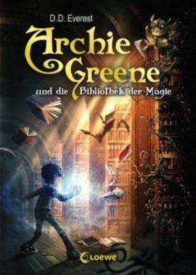 Archie Greene: Archie Greene und die Bibliothek der Magie, D. D. Everest