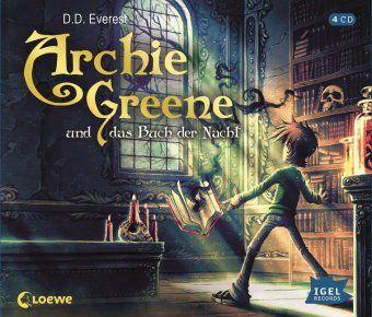 Archie Greene und das Buch der Nacht, 4 Audio-CDs, D. D. Everest
