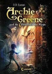 Archie Greene und die Bibliothek der Magie, D. D. Everest