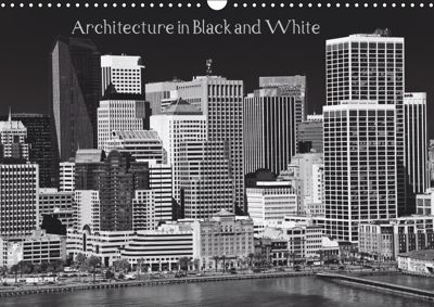 Architecture in Black and White / UK-Version (Wall Calendar 2019 DIN A3 Landscape), Ralf Kaiser