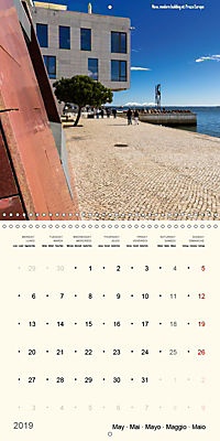 Architecture of Lisbon over the course of time (Wall Calendar 2019 300 × 300 mm Square) - Produktdetailbild 5