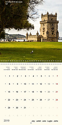 Architecture of Lisbon over the course of time (Wall Calendar 2019 300 × 300 mm Square) - Produktdetailbild 7