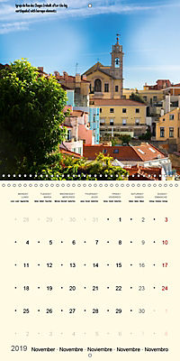 Architecture of Lisbon over the course of time (Wall Calendar 2019 300 × 300 mm Square) - Produktdetailbild 11