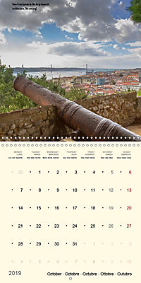Architecture of Lisbon over the course of time (Wall Calendar 2019 300 × 300 mm Square) - Produktdetailbild 10