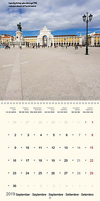 Architecture of Lisbon over the course of time (Wall Calendar 2019 300 × 300 mm Square) - Produktdetailbild 9