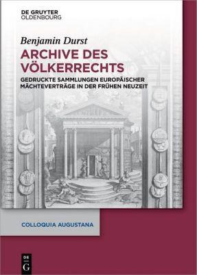 Archive des Völkerrechts, Benjamin Durst