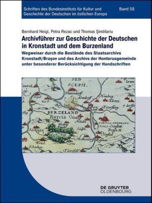 Archivführer zur Geschichte der Deutschen in Kronstadt