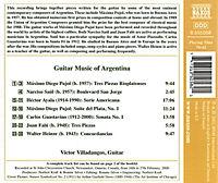 Argentinische Gitarrenmusik - Produktdetailbild 1
