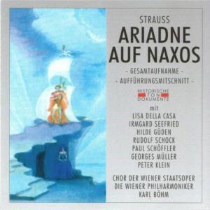 Ariadne Auf Naxos (Ga), Chor Der Wiener Staatsoper, Wiener Philharmoniker