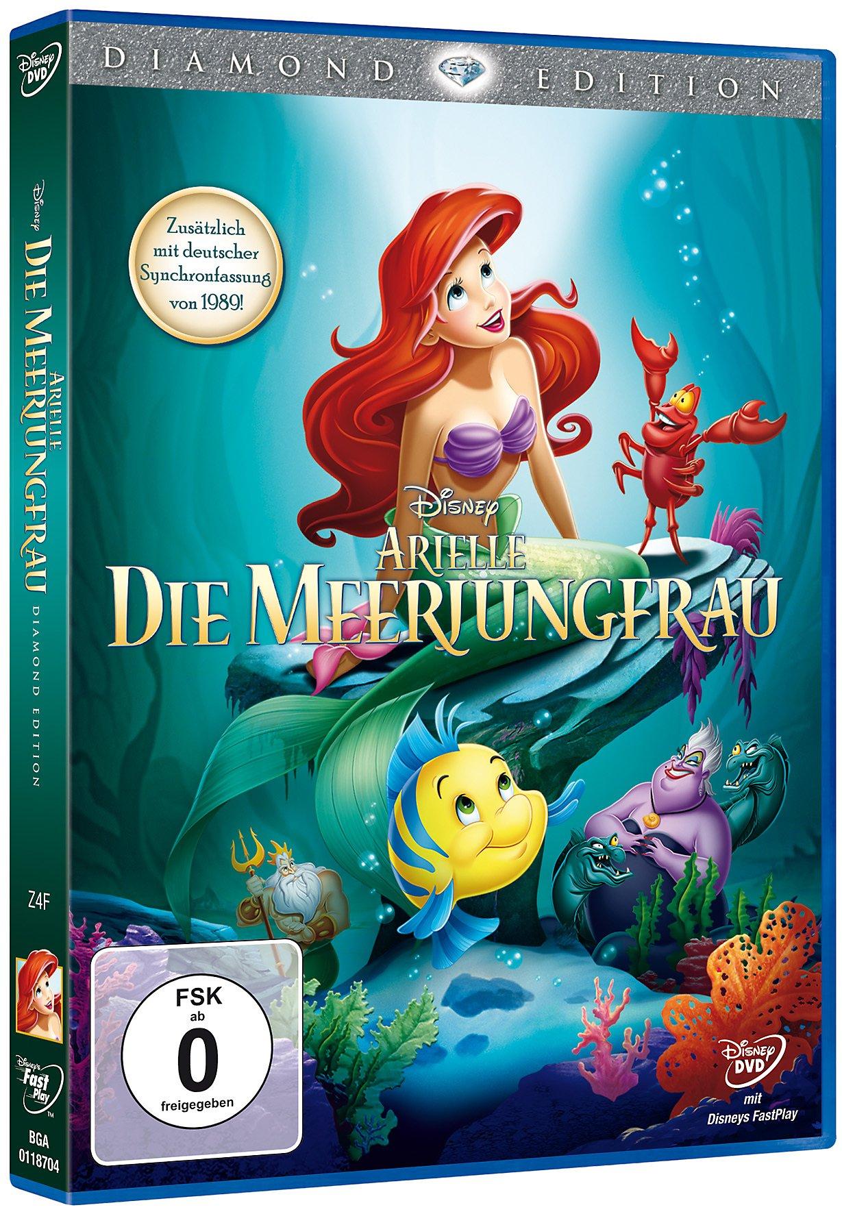 Arielle Die Meerjungfrau Diamond Edition Dvd Weltbildat