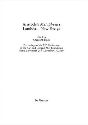 Aristotle's Metaphysics Lambda - New Essays